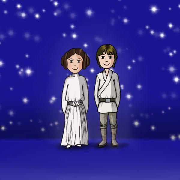 Leïa et Luke